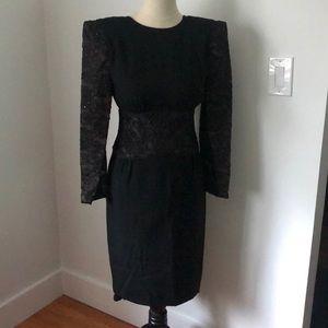 Vintage Carolina Herrera dress in size 8
